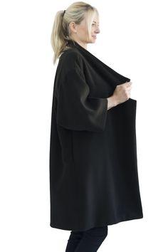the minimal coat Aurora, Minimalism, Studio, Coat, Dresses, Fashion, Vestidos, Moda, Sewing Coat