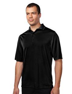 Short sleeves, 3 buttons placket, flat knit collar, open cuff, self turn botto hem.