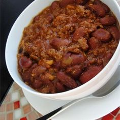 Spicy Turkey Chili - Allrecipes.com