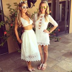 Paris & Nicky Hilton from Stars at Coachella 2015 | E! Online