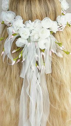 Colorado Mountain chic wedding, flower crown, floral headband, floral head wreath
