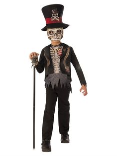 An Alluring Boys Voodoo Boy Costume. Elegent Collection of Spooky & Horror Costumes for Halloween, Day of the Dead at PartyBell. Halloween Infantil, Toddler Halloween Costumes, Boy Costumes, Halloween 2018, Spooky Halloween, Halloween Party, Witch Doctor Costume, Voodoo Costume, Horror Costume