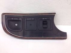 OEM 87-91 Ford F150 Dashboard Lights Wipe Wash Fuel Trim Panel E7TB-15046B33-DC #Ford