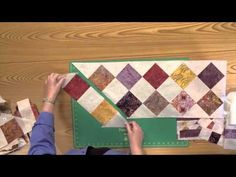 How To Make the Imperial Diamonds Quilt - YouTube