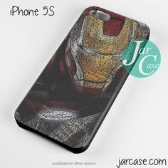 Typography ironman Phone case for iPhone 4/4s/5/5c/5s/6/6 plus