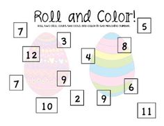 Free!! Roll & cover!! One for Easter & one for spring!