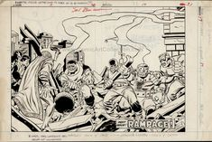 Defenders #17 pages 30-31 DPS Dan Green, Sal Buscema, Very Grateful, Defenders, Nostalgia, Art Gallery, Old Things, Marvel, The Incredibles