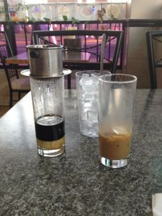 Vietnamese coffee Photo taken at Mui Ngo Gai by Henry M. on 2/22/2012