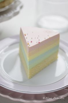 bake-a-boo: I {heart} rainbow cheesecake!