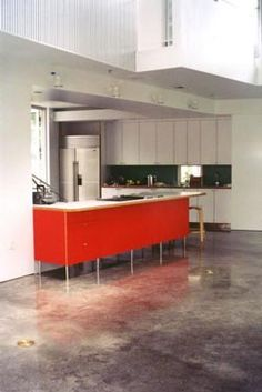 polished concrete kitchen flooring - Google Search   Kitchen ideas ...