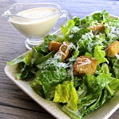"The Best Caesar Salad Dressing | ""I liked the fact that I didn't need to be concerned about a raw egg in the dressing."""