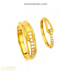 New Arrivals - Latest gold and diamond jewelry collection - Totaram Jewelers Online Diamond Studs, Diamond Jewelry, Gold Ring Designs, Couple Rings, Online Gifts, Wedding Ring Bands, Jewelry Collection, Jewelry Gifts, Gold Rings