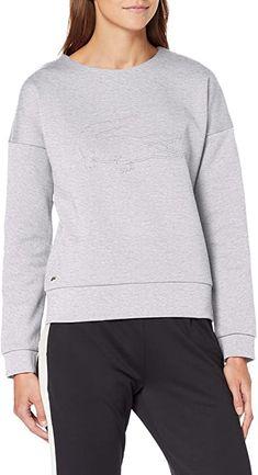 Top  Bekleidung, Damen, Sweatshirts & Kapuzenpullover, Sweatshirts Damen Sweatshirts, Sports Sweatshirts, Lacoste, Tops, Sweaters, Fashion, Hoodie, Summer, Clothing