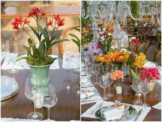 Flores Plantadas para Decorar o Casamento
