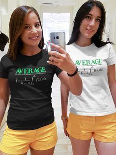 Teorema do valor médio para integrais definidas. #calculo #camisetasfemininas #impressaoemcamisetas T Shirt, Tops, Women, Fashion, Printing On T Shirts, Ladies T Shirts, Supreme T Shirt, Moda, Tee Shirt