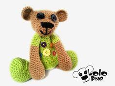 Crochet bear Verunka :)