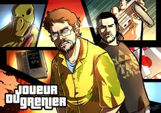 Joueur du Grenier by Dunklayth.deviantart.com on @DeviantArt