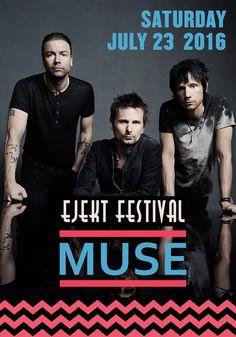 Οι Muse headliners στην 2η μέρα του Ejekt Festival!!!