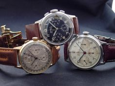 Benrus Sky Chiefs, some of the coolest watches ever made....