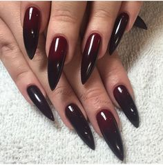 Blood red claws