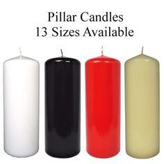 Pillar Candles ! Extra Large Church Candles ! Wedding Candles