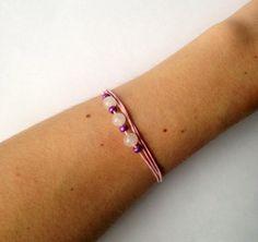 Bracelet orné de perles de jade et de perles rocailles par CreaMode