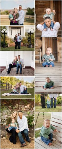 Family Session with Baby, Family Poses with Baby Holly Davis Photography:  Montgomery, TX Photographer