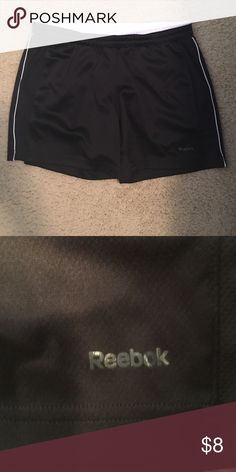 Reebok shorts Black and white reebok shorts. Good workout shorts. Reebok Shorts