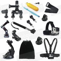 >> Click to Buy << Head Chest Mount Floating Monopod Pole Accessories for Go Pro Hero 4 GoPro kit Hero 5 2 3 3+ 4 Camera/SJCAM/EKEN H9R H9 #Affiliate