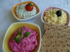 Barevné pomazánky - z červené řepy Grains, Rice, Ethnic Recipes, Food, Spreads, Kitchen, Cooking, Essen, Kitchens