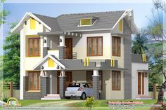 elevation of kerala house model house interior