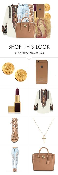 """10/13/15"" by xtaymaxlovesxmisfitx ❤ liked on Polyvore featuring Tom Ford, Etro, Gianvito Rossi and MICHAEL Michael Kors"