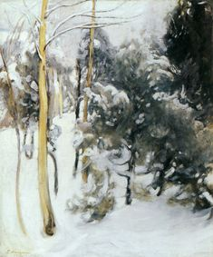 Pekka Halonen, Maaliskuu, 1911, The Life and Art of Pekka Halonen - http://www.alternativefinland.com/art-pekka-halonen/