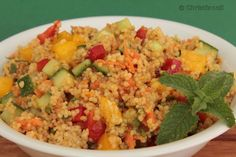 Marokkanischer Couscous Salat