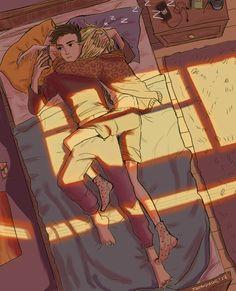Otabek Altin l Yuri Plisetsky [Yuri! Yuri On Ice, Canon Anime, Anime Couples, Cute Couples, Yurio And Otabek, Comic Anime, ユーリ!!! On Ice, Cute Couple Art, Yuri Plisetsky