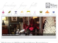 B2 Web Studios' Joomla website design for Willows Bend Home Furnishings in Appleton, Wisconsin - http://willowsbendhomefurnishings.com