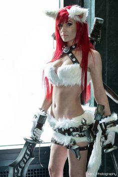 Kitty Cat Katarina League Of Legends, Cosplayer Danielle Beaulieu