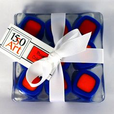 Chicklet coasters: Go Gators!    University of Florida fans will love these coasters.