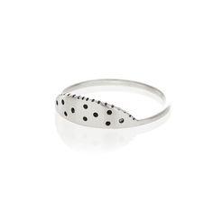 Silver watermelon ring