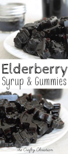 Homemade Elderberry Syrup & Gummies! {Recipe} - The Crafty ChristianEmailFacebookInstagramPinterestTwitter