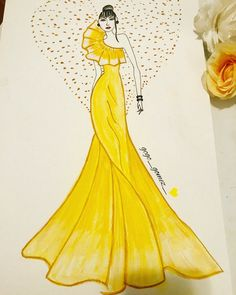 Drawing ideas creative sketchbooks fashion design 34 ideas for 2019 Dress Design Drawing, Dress Design Sketches, Fashion Design Sketchbook, Dress Drawing, Fashion Design Drawings, Fashion Figure Drawing, Fashion Drawing Dresses, Drawing Fashion, Fashion Illustration Poses