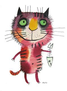 рисунки забавного кота: 21 тыс изображений найдено в Яндекс.Картинках