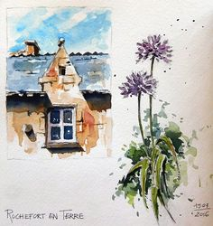 BB-Aquarelle: Rochefort en Terre