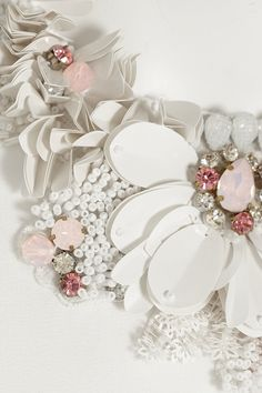 Biyan | Judith embellished silk-crepe top | NET-A-PORTER.COM