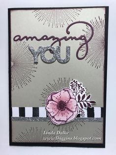 Today I am featuring 2 Sale-A-Bration (SAB) stamp sets on the one card..... and I have to say that I really like how this card turned ou...