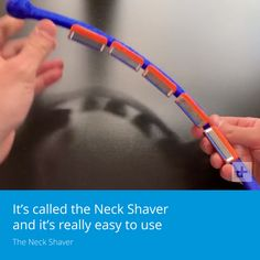 Shaver This device makes it easier to shave your neck.This device makes it easier to shave your neck. Easy To Use, How To Make, Cool Tech Gadgets, New Technology, Shaving, Knowledge, Cool Stuff, Learning, Studying