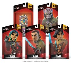 Amazon.com: Disney Infinity 3.0 Edition: Star Wars Rebels Bundle - Amazon Exclusive: Video Games