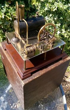 Radiguet Clyde Dockyard horizontal steam engine boiler box burner original 1887 Steam Engine, Boiler, Decorative Boxes, Engineering, The Originals, Ebay, Electrical Engineering, Decorative Storage Boxes, Architectural Engineering