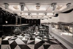 The designers of the Mascara nightclub in Sofia, Bulgaria, took their cues from the whimsical story of Alice in Wonderland and from the storied building of the National Opera and Ballet of Bulgaria. Founded in 2003 by interior designer Svetoslav Todorov, Sofia-based Studio Mode has designed several night clubs, but Club Mascara is special as …