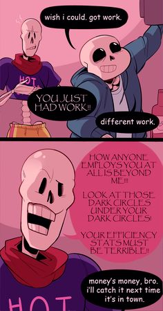 Under the read more: post pacifist end spoilers, papyrus being a goober, soriel, and sans being the best brother he can be 'cuz he has no idea how long any of this will last and someone might as well...
